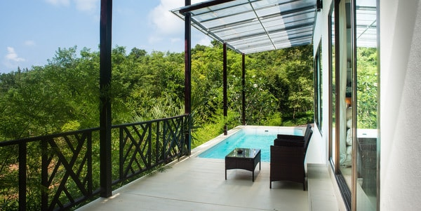 Balinese-villa-sale-koh-chang-pool-deck