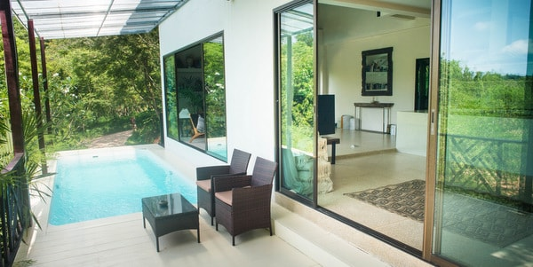 Balinese-villa-sale-koh-chang-pool-room