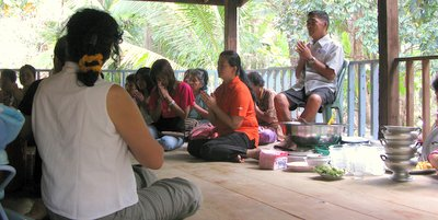 Koh Chang Thai home blessing