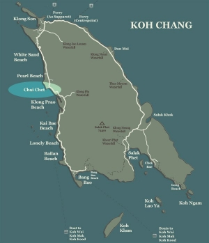 Koh Chang Map Chai Chet