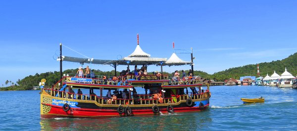 Koh chang snorkeling fishing boat trips activities for Fishing boat trips