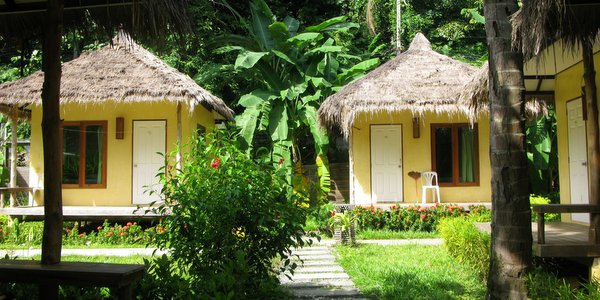Koh Chang Bungalows Resorts Nature Beach Resort Lonely