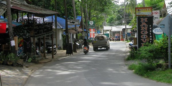 lonely beach koh chang street