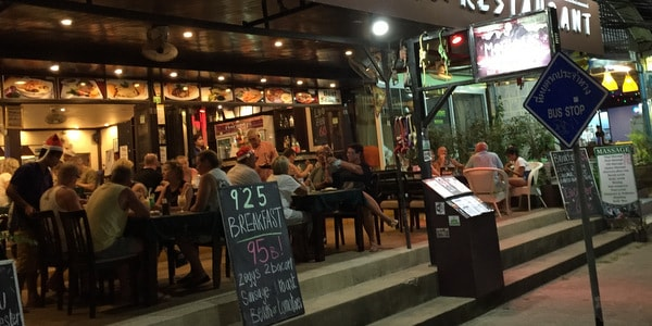restaurant-sale-koh-chang-evening